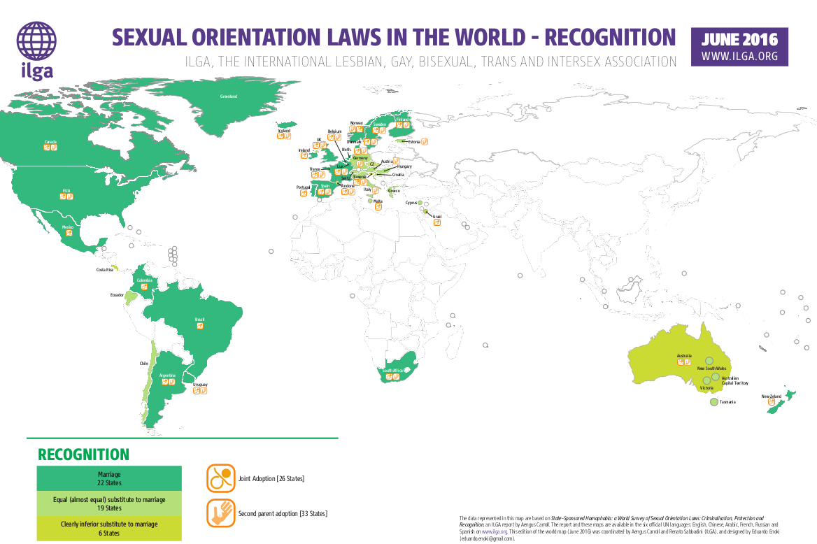 Maps Sexual Orientation Laws ILGA - Images world map