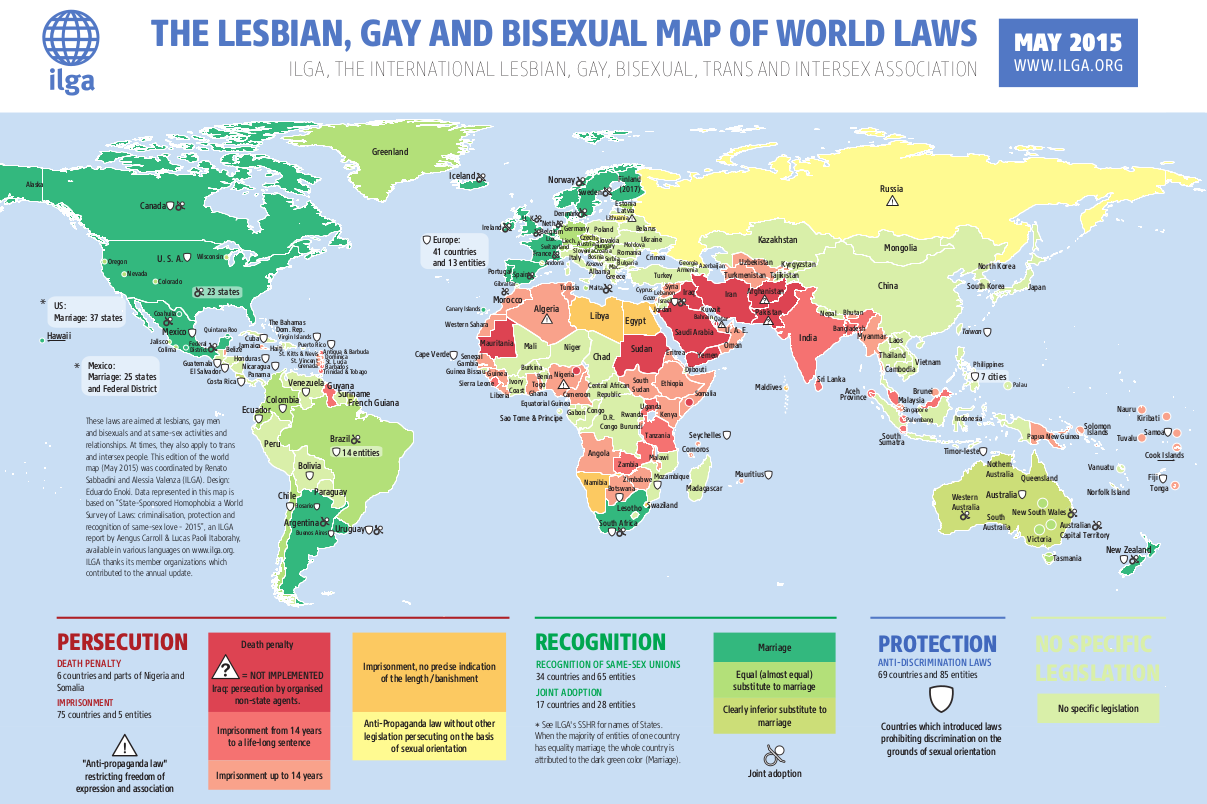 Maps sexual orientation laws ilga overview map sexual orientation laws 2015 gumiabroncs Image collections