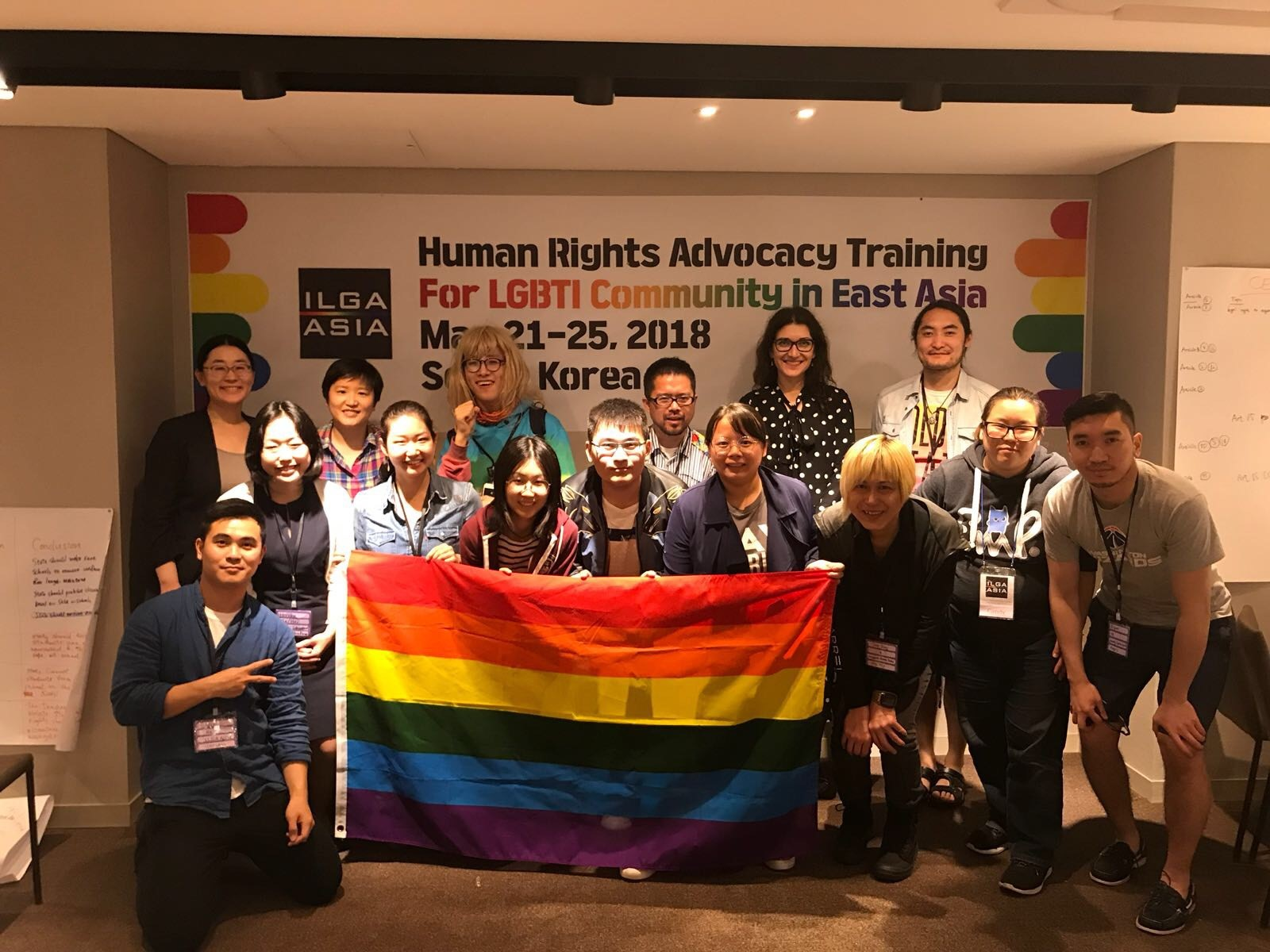 Human rights and advocacy training in Seoul, South Korea