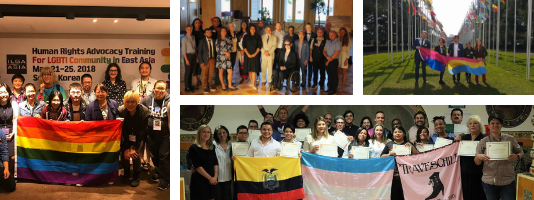We continue to support and work with LGBTI human rights defenders worldwide!