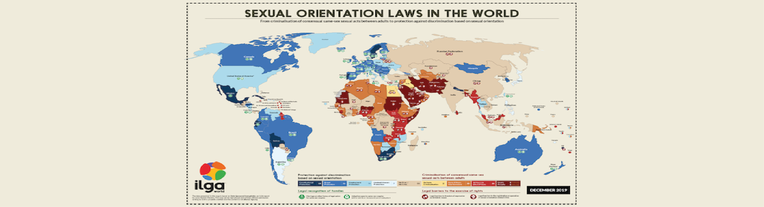 Maps - Sexual orientation laws