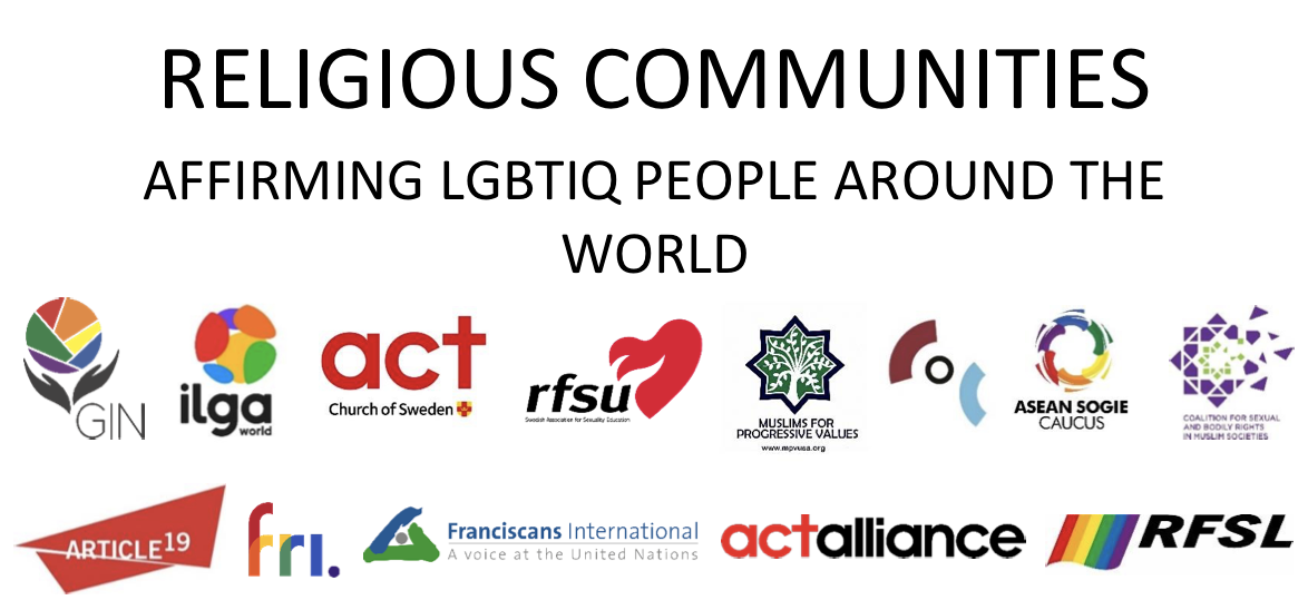 HRC41 side event: religious communities affirming LGBTIQ people