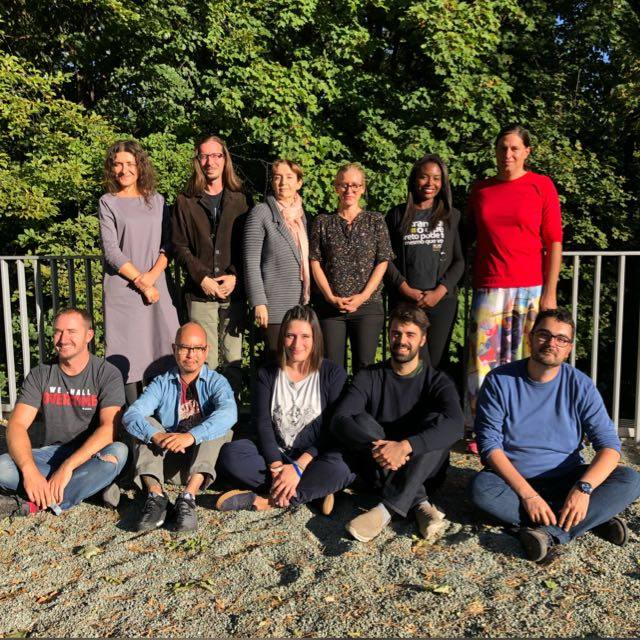 the ILGA World team during the staff retreat in September 2018