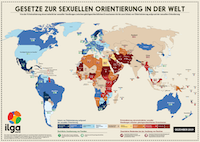 ILGA World's Map in German
